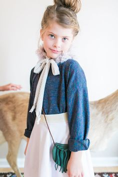 Faux Fur Collar for Girls by EWMcCall on Etsy