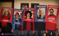 24 Best Halloween Costumes For Big Groups Work Group Halloween Costumes, Halloween Costume Contest, Family Costumes, Halloween Halloween, Halloween Makeup, Teacher Costumes, Ghost Costumes, Game Costumes, Costume Ideas