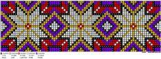 Perlesøm på stramei, bunad. – Vevstua Bull-Sveen Macrame Patterns, Beading Patterns, Cross Stitch Designs, Cross Stitch Patterns, Beaded Banners, Bead Crochet Rope, Arts And Crafts, Art Crafts, Loom Beading
