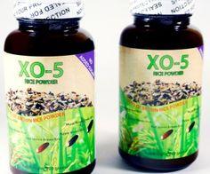 XO-5 cung cấp nhiều vitamins và amico acid cần thiết cho cơ thể như: vitamin E, lysine, magnesium, vitamins B6 và B12. Hàm lượng vitamins và dinh dưỡng hữu cơ này được tăng lên đáng kể sau khi gạo được trổi mầm. Vitamin E là chất chống oxy hoá tế bào trong khi chất amino acid L-lysine thì chống viêm và giúp tạo ra chất collagen. Chất magnesium thì cần thiết cho sự hấp thụ calcium để bổ xương, giúp hệ thần kinh não và cơ bắp. Còn vitamins B thì giúp giảm căng thẳng và hổ trợ cho tim và mạch…