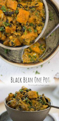 Trinity's Conscious Kitchen - EASY Black Bean One Pot – vegan, gluten-free