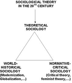 Sociological Theory in the 20th Century