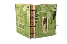Botanical  Coptic Bound Journal by Thenibandquill on Etsy, $32.00