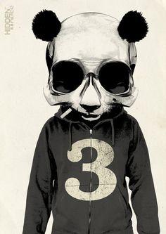 love pandas...even terrifying human zombie half breeds