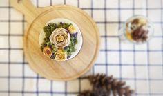 하루가달고나_들깨설기 | pi7pie153 | Vingle | 케이크,요리,베이킹,#flowercake #ricecake #muffins #food #dessert #flowercakeclass #cake #sweet #cafe #happybirthdaycake