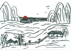 China (canetinha hidrocor) | La Golondrina
