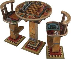 Image result for diy painted gameboard tabletops