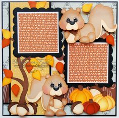 BLJ Graves Studio: Fall Scrapbook Page