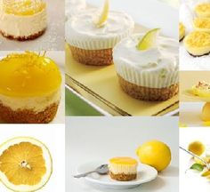 Mini Lemon Cheesecakes recipe - Recipes - BBC Good Food