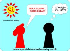 Would you like to be able to communicate in Spanish when on Holidays? Spanish Lessons Bromley is a fun, interactive way to get started in Spanish. Spanish Lessons, How To Speak Spanish, Symbols, Letters, Let It Be, Holiday, Fun, Vacations, Spanish Courses