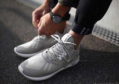official photos 93961 4cd8a Mens Womens Adidas Originals Y3 Tubular Runner White Gray,Adidas-Y-3 Shoes