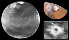 Colossal Polar Cyclone on Mars Credit: Jim Bell (Cornell U.), Steve Lee (U. Colorado), Mike Wolff (SSI), and NASA