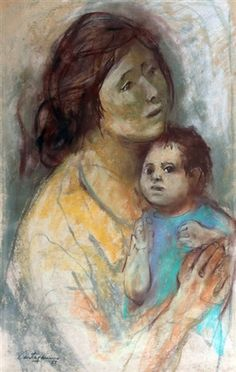 Maternidad : Juan Carlos Castagnino