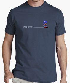 #stillwaiting #sonic #sega #retro #8bits #camiseta #gaming #gamer #videojuego #tshirt #megadrive #mastersystem #hedgehog #oldtimes Master System, Waiting, 8 Bits, Retro, Mens Tops, T Shirt, Fashion, T Shirts, Tee