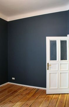 Ein Traum In Blau Stiffkey Blue 2 - Home Accents living room Blue Rooms, Blue Bedroom, Blue Walls, Bedroom Colors, Bedroom Ideas, Trendy Bedroom, Bedroom Inspiration, White Walls, Bedroom Wall