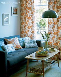 28 best orange curtains images bed room combination colors r rh pinterest com