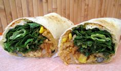 Tropical Smoothie Cafe Hummus Veggie Wraps.