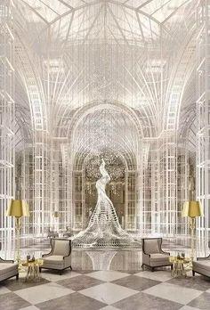在这顶级酒店大堂里学点设计吧!