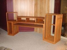 DIY Recording Studio Furniture on Pinterest | Recording Studio, Studio ...
