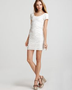 Aqua Luxe Dress - Dynamic Sequin Scoopneck | Bloomingdale's