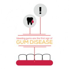 YOU'D BE WORRIED if your scalp bled every time you cleaned it. Same goes for your gums! Think about that!!!