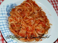 Le Delizie di Fiorellina84: Spaghetti Infilzati