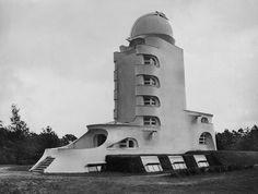 Erich Mendelsohn's Einstein Tower observatory, Potsdam, Germany, 1920s