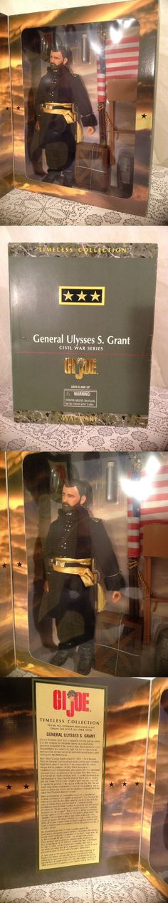 Military and Adventure 158679: Gi Joe Hasbro General Ulysses S. Grant Civil War Series 1:6 Scale New Unopened -> BUY IT NOW ONLY: $31.99 on eBay!