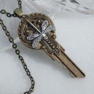 This would be a fun house key to hand to a house guest