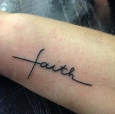 Like what you see⁉Follow me on Pinterest ✨: @joyceejoseph ~ Faith Tattoo #Faith #Tattoo #CrossTattoo