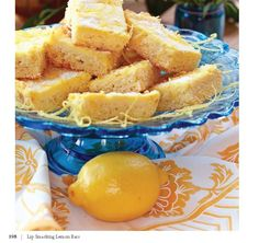 "CLICK PIC  2x for Recipe....  ...""Low Carb"" Lip Smackin' Lemon Bars... ...Recipe by George Stella... ...For tons more Low Carb recipes visit us at ""Low Carbing Among Friends"" on Facebook"