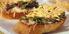Asparagus Crostini Appetizer | Sargento® Parmesan Cheese