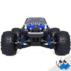 Traxxas Revo 3.3: 1/10 Scale 4WD Nitro-Powered Monster Truck with TQi 2.4GHz Radio & TSM, Blue