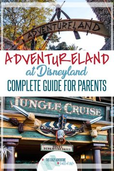 Before heading to Disneyland with Kids, check out our parental guide to Adventureland. Insider tips, info on rides and food, plus so much more. Who knew California's Disney Resort had so much to offer in just one land! Disneyland California Adventure, Disneyland Vacation, Disney Vacation Club, Disney Cruise Line, Disney Vacations, Vacation Ideas, Disney Travel, Disney World Tips And Tricks, Disney Tips