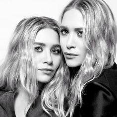 mary kate ashley4 Mary Kate & Ashley Olsen Pose Together for NET A PORTER Feature