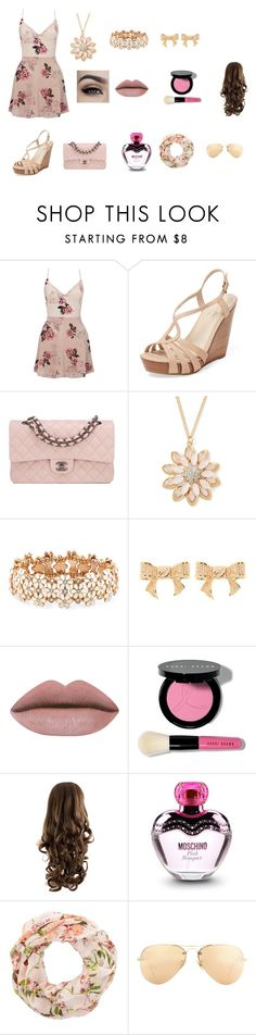 """""""visiting hostpital"""" by sarah4ever123 ❤ liked on Polyvore featuring Lipsy, Seychelles, Chanel, Mixit, Accessorize, Ted Baker, Bobbi Brown Cosmetics, Moschino and Ray-Ban"""