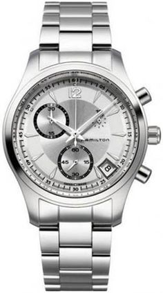 H18512155 - Authorized Hamilton watch dealer - Mens Hamilton Jazzmaster Quartz Chrono, Hamilton watch, Hamilton watches