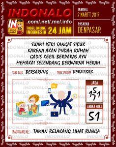 Prediksi 2D Togel Wap Online Indonalo Denpasar 2 Maret 2017