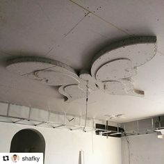"9 Likes, 1 Comments - Zoom Homes Decor (@zoomhomesdecor) on Instagram: ""#Repost @shafky with @repostapp ・・・ Butterfly design in the ceiling made of Gypsum board.…"""