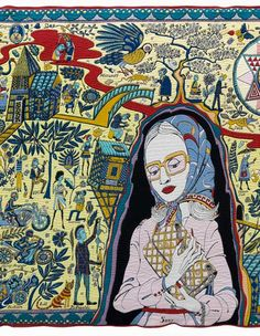 View The Walthamstow Tapestry by Grayson Perry on artnet. Browse more artworks Grayson Perry from Paragon Press. Grayson Perry Tapestry, Grayson Perry Art, Art Plastique, Contemporary Paintings, Fiber Art, Illustration, Folk Art, Original Artwork, Art Gallery