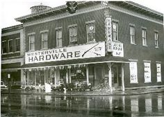 Northeast Corner of State and College was Westerville Hardware in 1966
