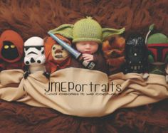 new born knitted star wars costumes - Google Search