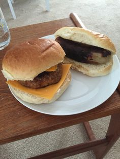 Marks and Spencer Chorizo Burger, Chilli Cheese Posh Dog and ultimate buns!