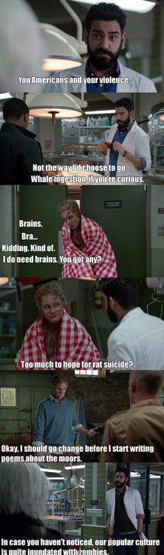 "#iZombie 2x15 ""He Blinded Me With Science"" - Blaine and Ravi"