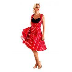 'Ophelia' Red Polka