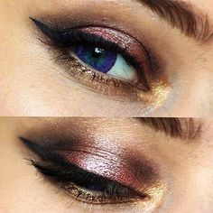 Super pretty shades from the @zoevacosmetics Cocoa Blend palette  EOS Fairy Violet lenses from @pinkyparadisedotcom #makeup #eyemakeup #zoeva @makeupartists_worldwide