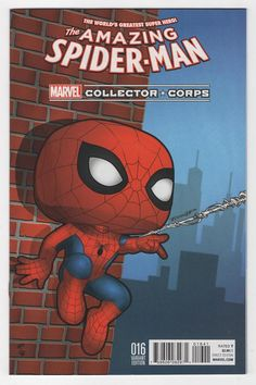 Amazing Spider-Man #16 Mike Martin Marvel Collectors Corps Variant Cover (2016)