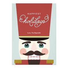 Happiest Nutcrackin' Holidays Cards