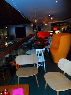 The members lounge area.