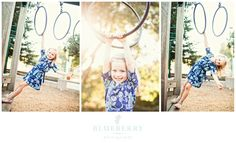 Mill Valley family portrait photography session at the playground!